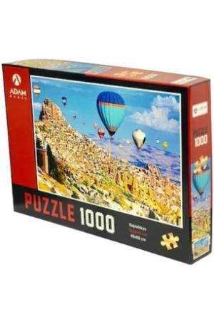 Puzzle Yapboz Kapadokya 1000 Parça Puzzle (48x68) TürkçeKitap