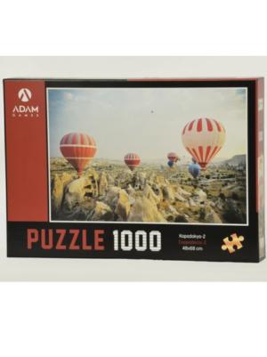 Puzzle Yapboz Kapadokya 2 1000 Parça Puzzle (48x68) TürkçeKitap