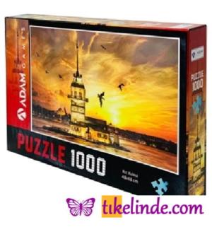 Puzzle Yapboz Kız Kulesi 1000 Parça Puzzle (48x68) TürkçeKitap