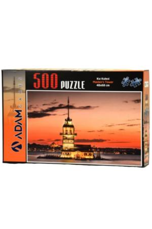 Puzzle Yapboz Kız Kulesi 500 Parça Puzzle (48x68) TürkçeKitap