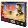 Puzzle Yapboz Mustafa Kemal Atatürk 1000 Parça Puzzle (48x68) TürkçeKitap