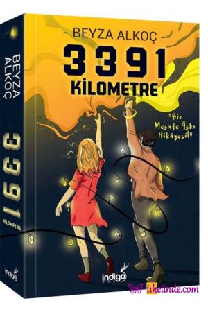 Kitap Beyza Alkoç 3391 Kilometre TürkçeKitap