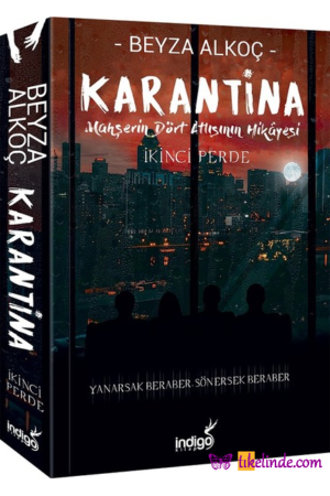 Kitap Beyza Alkoç Karantina İkinci Perde TürkçeKitap