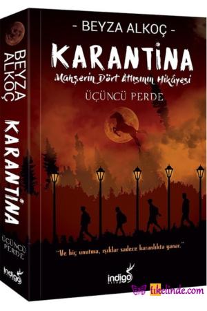 Kitap Beyza Alkoç Karantina Üçüncü Perde TürkçeKitap