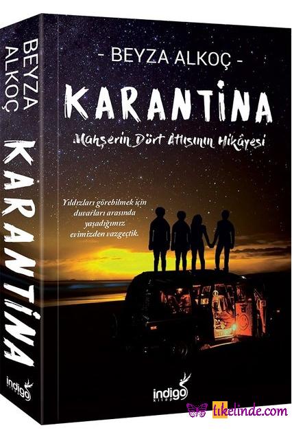 Kitap Beyza Alkoç Karantina TürkçeKitap