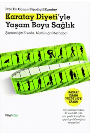 Kitap Canan Efendigil Karatay Karatay Diyeti'yle Yaşam Boyu Sağlık TürkçeKitap