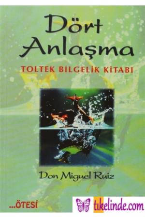 Kitap Don Miguel Ruiz Dört Anlaşma TürkçeKitap
