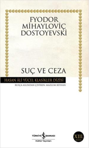 Kitap Fyodor Mihayloviç Dostoyevski Suç Ve Ceza TürkçeKitap