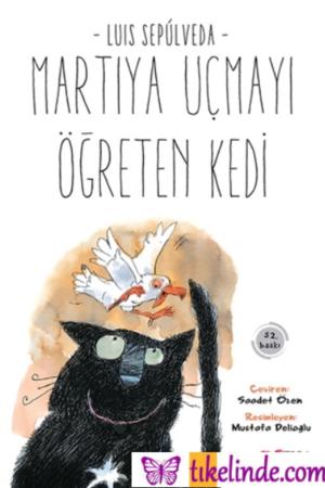 Kitap Luis Sepulveda Martıya Uçmayı Öğreten Kedi TürkçeKitap