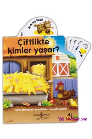 Kitap Nicola Baxter Çiftlikte Kimler Yaşar TürkçeKitap