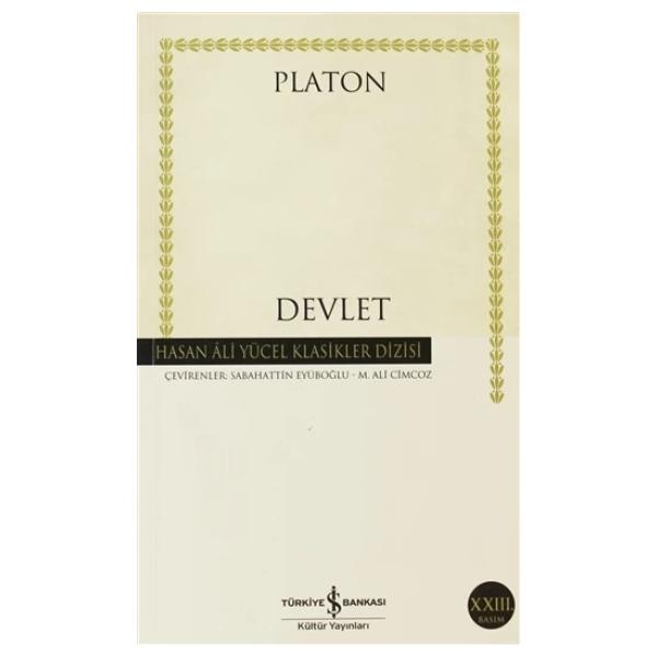 Kitap Platon (eflatun) Devlet TürkçeKitap
