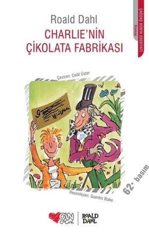 Kitap Roald Dahl Charlie'nin Çikolata Fabrikası TürkçeKitap
