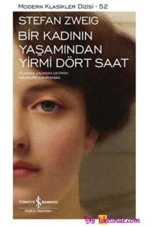 Kitap Stefan Zweig Bir Kadının Yaşamından Yirmi Dört Saat TürkçeKitap