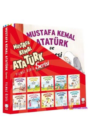 Kitap Yılmaz Özdil Mustafa Kemal Atatürk Serisi (10 Kitap Takım) TürkçeKitap