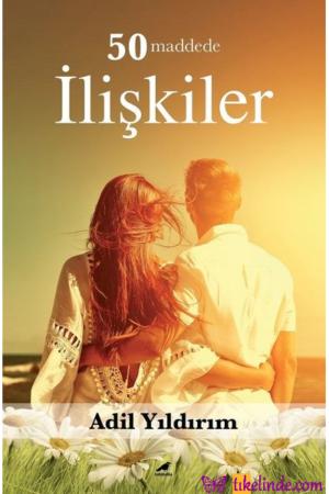 Kitap Adil Yıldırım 50 Maddede İlişkiler TürkçeKitap