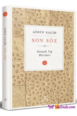 Kitap Aidin Salih Son Söz Cilt 1 TürkçeKitap