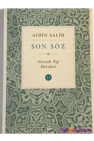 Kitap Aidin Salih Son Söz Cilt 2 TürkçeKitap