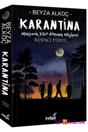 Kitap Beyza Alkoç Karantina Beşinci Perde TürkçeKitap
