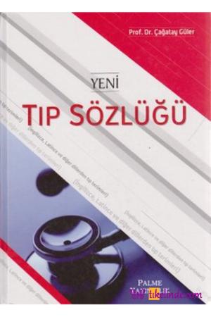 Kitap Çağatay Güler Yeni Tıp Sözlüğü TürkçeKitap
