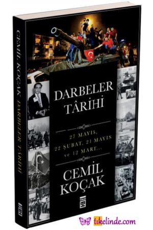 Kitap Cemil Koçak Darbeler Tarihi TürkçeKitap