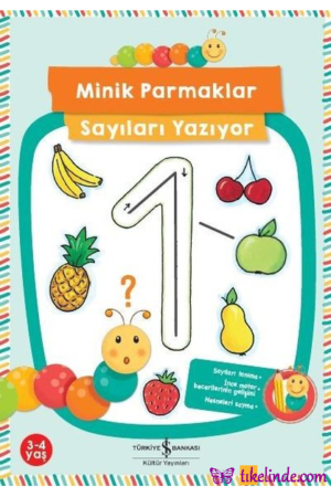 Kitap Corina Beurenmeister Minik Parmaklar Sayıları Yazıyor TürkçeKitap