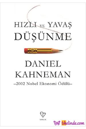 Kitap Daniel Kahneman Hızlı Ve Yavaş Düşünme TürkçeKitap
