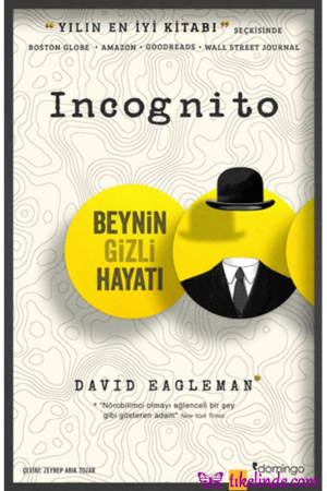 Kitap David Eagleman Incognito Beynin Gizli Hayatı TürkçeKitap