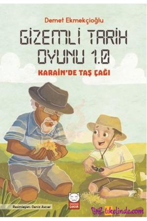 Kitap Demet Ekmekçioğlu Gizemli Tarih Oyunu 1.0 Karain'de Taş Çağı TürkçeKitap