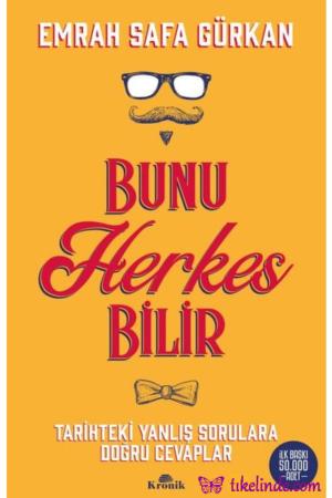 Kitap Emrah Safa Gürkan Bunu Herkes Bilir TürkçeKitap