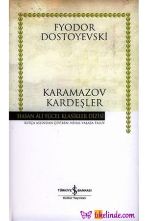 Kitap Fyodor Mihayloviç Dostoyevski Karamazov Kardeşler TürkçeKitap