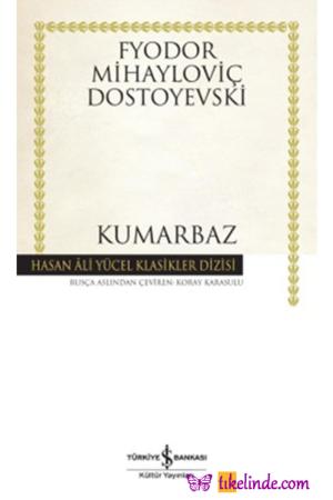 Kitap Fyodor Mihayloviç Dostoyevski Kumarbaz TürkçeKitap