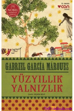 Kitap Gabriel Garcia Marquez Yüzyıllık Yalnızlık TürkçeKitap