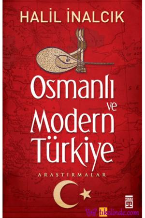 Kitap Halil İnalcık Osmanlı Ve Modern Türkiye TürkçeKitap