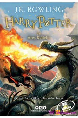 Kitap J. K. Rowling Harry Potter Ve Ateş Kadehi 4 TürkçeKitap