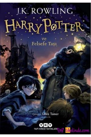 Kitap J. K. Rowling Harry Potter Ve Felsefe Taşı 1 TürkçeKitap