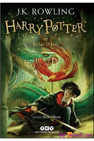 Kitap J. K. Rowling Harry Potter Ve Sırlar Odası 2 TürkçeKitap