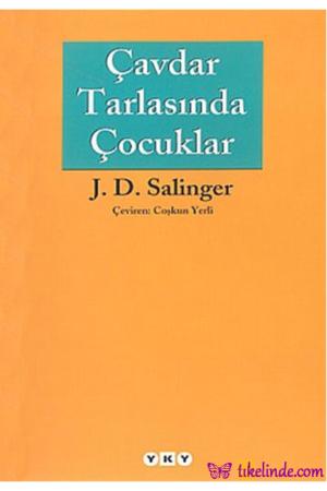 Kitap Jerome David Salinger Çavdar Tarlasında Çocuklar TürkçeKitap