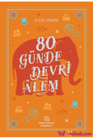 Kitap Jules Verne 80 Günde Devri Alem TürkçeKitap