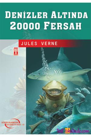 Kitap Jules Verne Denizler Altında 20000 Fersah TürkçeKitap