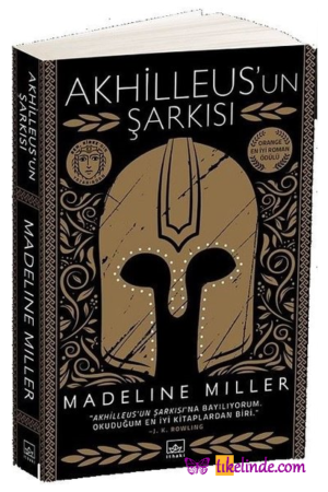Kitap Madeline Miller Akhilleus'un Şarkısı TürkçeKitap