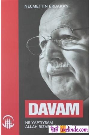 Kitap Necmettin Erbakan Davam TürkçeKitap