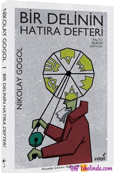 Kitap Nikolay Vasilyeviç Gogol Bir Delinin Hatıra Defteri TürkçeKitap