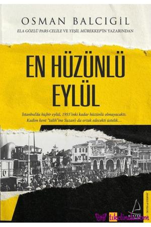 Kitap Osman Balcıgil En Hüzünlü Eylül TürkçeKitap