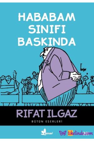 Kitap Rıfat Ilgaz Hababam Sınıfı Baskında TürkçeKitap