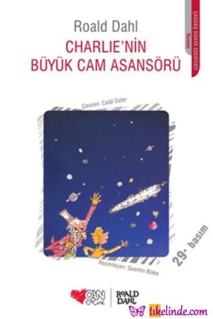 Kitap Roald Dahl Charlie'nin Büyük Cam Asansörü TürkçeKitap