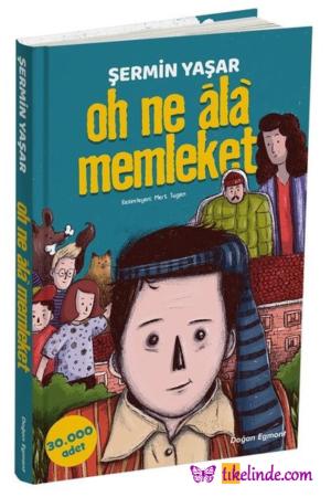 Kitap Şermin Yaşar Oh Ne Ala Memleket TürkçeKitap