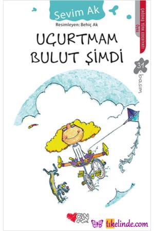 Kitap Sevim Ak Uçurtmam Bulut Şimdi TürkçeKitap