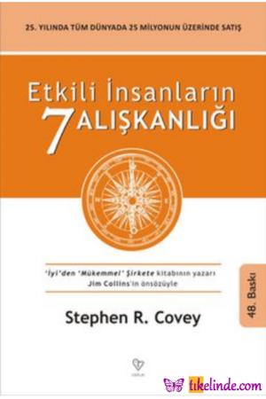Kitap Stephen R. Covey Etkili İnsanların 7 Alışkanlığı TürkçeKitap