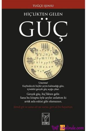 Kitap Tuğçe Işınsu Hiç'likten Gelen Güç TürkçeKitap