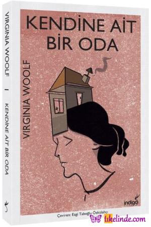 Kitap Virginia Woolf Kendine Ait Bir Oda TürkçeKitap